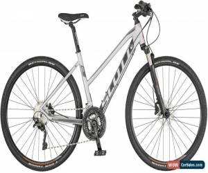 Classic Scott Sub Cross 10 Womens Hybrid Bike 2019 - Silver for Sale