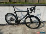 Carbon Road bike Elite Disc SLR Disc Sram Red etap wifi carbon Zipp wheels 57/58 for Sale