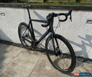 Classic Carbon Road bike Elite Disc SLR Disc Sram Red etap wifi carbon Zipp wheels 57/58 for Sale