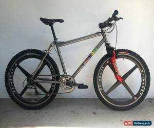 Classic Vintage 1997 DEAN Duke Titanium Softail Mountain Bike XTR for Sale