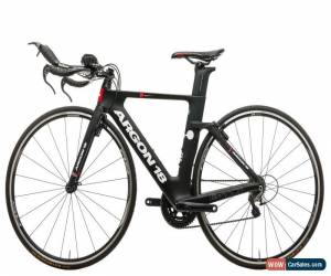Classic 2018 Argon 18 E-117 TRI Triathlon Bike X-Small Carbon Shimano 5800 11s WH-RS010 for Sale