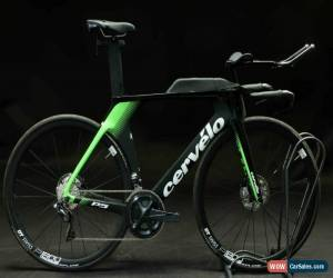 Classic 2019 Cervelo P5 54cm Ultegra Di2 Disc Carbon Aero Bike Triathlon Time Trial DEMO for Sale