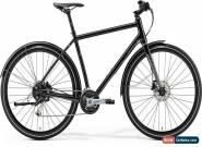 Merida Crossway Urban 100 Mens Hybrid Bike 2019 - Black M L for Sale