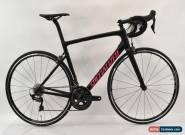 2018 Specialized Tarmac Expert SL6 Ultegra Carbon Bike 56cm Blk/Gl Acid Pink New for Sale