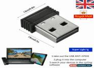 UK ANT USB Dongle Mini USB Stick Adapter for Garmin Sunnto Watch Wahoo Kickr for Sale