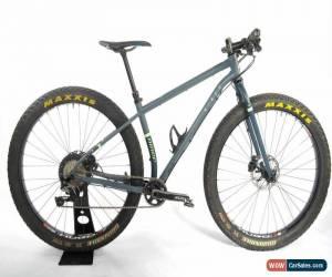 Classic Niner ROS 9 Plus Mountain Bike 2017 Steel 29er SLX Stans Dropper 100 Miles EXC for Sale