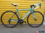 ROADBIKE BIANCHI NIRONE 7.CARBON/ALU FRAME.ULTEGRA GROUP.ITALIAN RACEMACHINE.51 for Sale