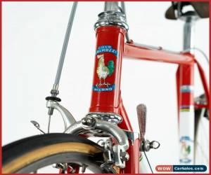 Classic GALMOZZI CAMPAGNOLO SUPER RECORD ROAD BIKE VINTAGE OLD STEEL LUGS 80s CINELLI for Sale