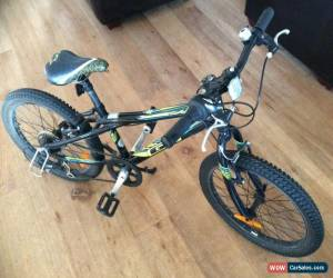 Classic GT 20 AGGRESSOR 20 INCH 7 SPEED MOUNTAIN BIKE MIDNIGHT BLACK SHIMANO GEARS VGC for Sale