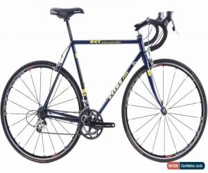 Classic USED Vintage Vitus OCT 55cm Carbon Road Bike Shimano Ultegra 2x9 speed Blue for Sale
