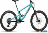 Classic Santa Cruz Bronson 3 C S Reserve Mountain Bike 2019 - Blue for Sale