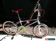 "1987 Oldschool BMX GT Pro Series XL Chrome Bike 20""  for Sale"