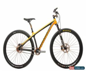 "Classic 2012 Niner AIR 9 CYA Carbon Mountain Bike Small 29"" Single Speed RockShox Sid for Sale"