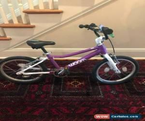 "Classic Woom 3 16"" Kids Bike. Purple. Lightweight. Excellent Condition. Kickstand/Bell for Sale"