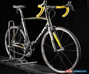 Classic 2013 Look 586 SL Carbon 10-speed Road Bike Ultegra Di2, size XL, Black/Yellow for Sale