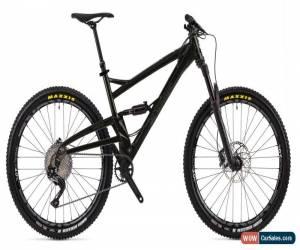 Classic Orange Four S Full Suspension MTB Mens Mountain Bike 2019 Jet Black Large for Sale