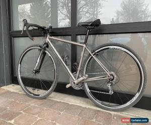 Classic Custom Carl Strong Titanium Gravel Bike, 45cm, Shimano Ultegra for Sale