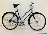 Vintage  Transatlantic Ladies City Bike 53 cm 3 speed Hub Gears, Original Featur for Sale