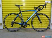 "ROADBIKE PINARELLO FPUNO ""TEAM SKY'.CARB.ALLOY ITALIAN FRAME.SHIMANO GROUPSET.53 for Sale"