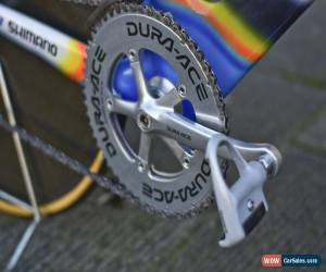 Classic Colnago C45 Mapei team TT time trial Shimano Dura Ace VGC size M , Lo-proCrono for Sale