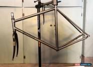 Davidson Bicycles Hand Made Titanium Frame Set, TIME Carbon Fork, Chris King for Sale