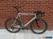 60cm Cannondale CAAD 4 - SRAM 1X Group - Bontrager Aeolus 5 ACC Wheelset HED for Sale
