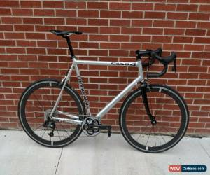 Classic 60cm Cannondale CAAD 4 - SRAM 1X Group - Bontrager Aeolus 5 ACC Wheelset HED for Sale