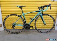 ROADBIKE BIANCHI IMPULSO.CARBON/ALU FRAME.BARELY USED.ITALIAN RACE MACHINE.51 for Sale