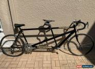 Cannondale Aluminum Road Tandem Bike Black Metallic Antique Made In USA for Sale