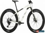 "Salsa Beargrease Carbon SX Eagle Fat Bike - 27.5"", Carbon, White, Small for Sale"