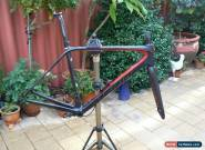 MERIDA SCULTURA 7000E CARBON FRAMESET, 54.5 TOP TUBE, OUTSTANDING CONDITION for Sale