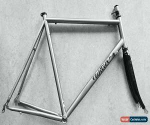 Classic Sandvik TST Titanium Frame, Kinesis Carbon Fork, Lemond, Mongoose Litespeed 58cm for Sale