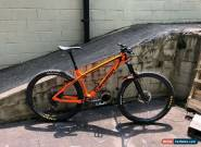 Transition Vanquish 29 Carbon Trail Hardtail Large Orange 160 Travel w/Free ship for Sale