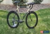 Classic Custom Vintage Aluminum/Carbon road bike size 56. 60mm carbon wheelset for Sale