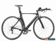 2013 Cannondale Slice Triathlon Bike 54cm Carbon Shimano 105 5700 10s WH-RS10 for Sale