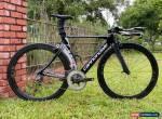 Cannondale Slice HiMod Triathlon TT Bike 51cm Sram Red Rotor Q Rings Ceramic for Sale