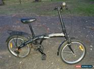 "Nitro fold up bike, as new. Very compact. 20"" wheels. Black for Sale"