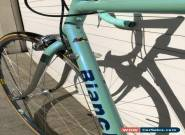 Bianchi Reparto Corse Columbus EL Tubing Bike Made In Italy Campagnolo 55cm for Sale