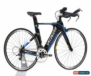 Classic Specialized Shiv Comp Carbon Triathlon Bike XS 10 Speed SRAM Rival DT Swiss 700C for Sale