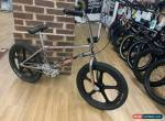 GT Fueler Custom Retro BMX Bike 21.25 Chrome with Skyways for Sale