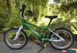 """Classic Woom 3 Kids Bike 16"""" Green, Aluminum, Great Condition for Sale"""