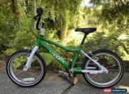 """Woom 3 Kids Bike 16"""" Green, Aluminum, Great Condition for Sale"""