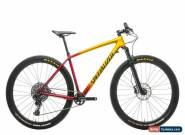 2018 Specialized Mens Epic Hardtail Expert Carbon Mountain Bike Large SRAM GX for Sale