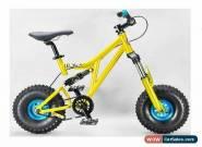 MAFIABIKES Mini Rig FULL SUSPENSION MINI BIKE - Gold Frame - Teal Wheels for Sale