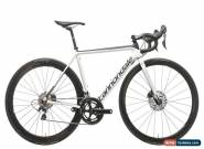 2017 Cannondale SuperSix EVO Hi-Mod Disc Road Bike 50cm Carbon Shimano DA ENVE for Sale