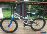 Mongoose BMX bike Racer X Silver (20inch wheels) - Rusty bolts, rides perfectly. for Sale