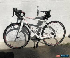 Classic Used Specialized Roubaix Elite SL4 8R 52 Cm White Carbon Road Bike for Sale