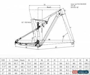 "Classic 29er 19"" Sram SX Eagle DUB 12s Full Suspension Carbon Mountain Bike Frame Shock for Sale"