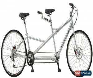 "Classic 2011 Schwinn Voyageur Tandem Bike 26"" Bicycle 21 Speed Aluminium Frame Gray New! for Sale"