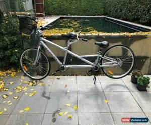"Classic 2011 Schwinn Voyageur Tandem Bike 26"" Bicycle 21 Speed Aluminium Frame Gray New! for Sale"